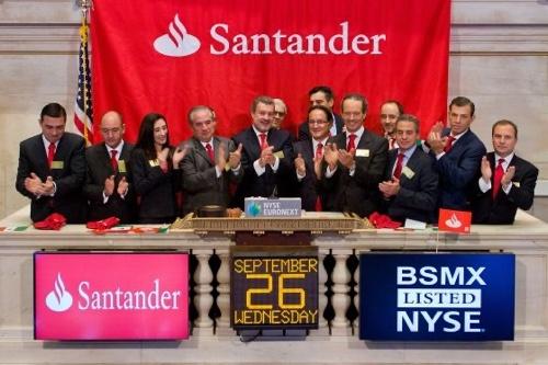 Como invertir en el banco Santander